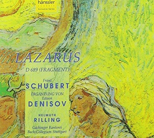 Schubert: Lazarus, D 689 by Haenssler Classics