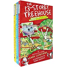 Macmillan Andy Griffiths The 13-Storey Treehouse Collection Set Pack, (The 13-Storey Treehouse, The 26-Storey Treehouse and The 39-Storey Treehouse)