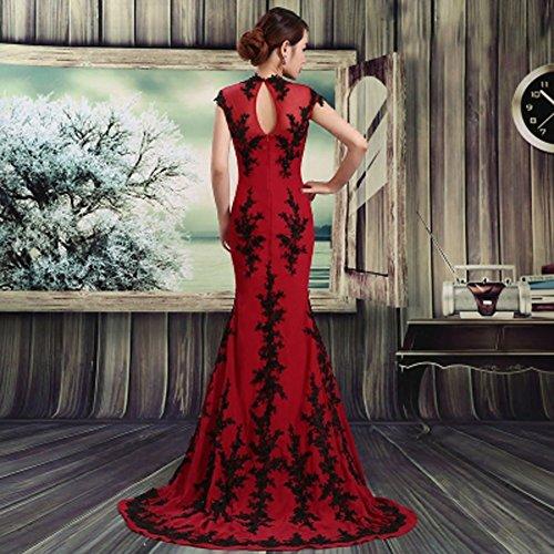 Drasawee - Robe - Moulante - Femme red