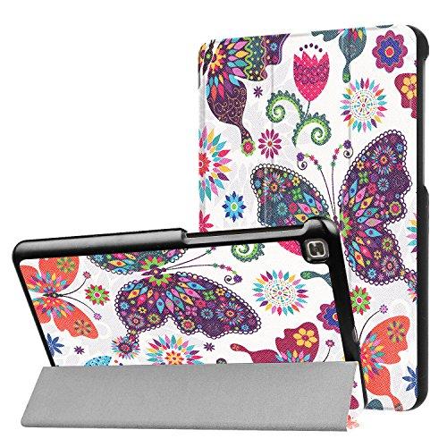 LG G Pad IV 8.0/G Pad X28.0FHD Fall, ratesell Slim Fit Haltbar Premium Leder Folio Schutzhülle für LG G Pad IV 8.0/V533(Kanada), GPAD X28.0Plus (T-Mobile) Tablet, Schmetterling