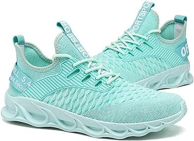 XIALIUXIA Moda Sneaker Passeggio Sport, Comode Scarpe Sportive Morbide Pieghevoli Traspiranti Scarpe Uomo Donna Scarpa Tennis,C,40