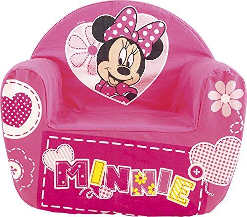 Lulabi Disney Minnie Poltrona Morbida, Bimbo, Rosa