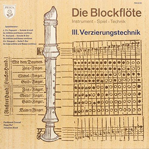 Suite für Sopranblockflöte und Basso continuo in F Major: II. Allemande