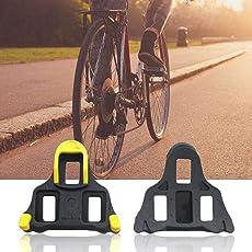 Professionelle Rennrad Klampen selbstsichernde Fahrrad Pedal Fahrrad Cleat Für Shimano SM-SH11 SPD-L Fahrrad Pedal (Farbe: Yelow)
