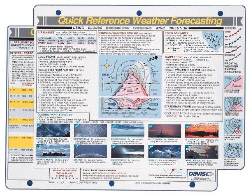 Unbekannt Davis Instruments der Wettervorhersage Kurzanleitung -