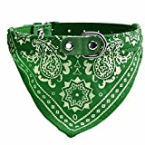 Ducomi® Dogemi–Collier réglable avec bandana pour chiens et chats–Accessoire sympathique pour chien et chat