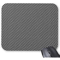 CROWDED fibra di carbonio texture Mouse Pad Gaming Mousepad Tappetino mouse pad Texture di alta qualità, design semplice