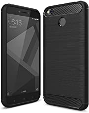 Qualstuff Back Cover for Redmi 4 (Black)