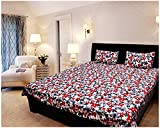 FURHOME Polycotton Double Bedsheet with ...