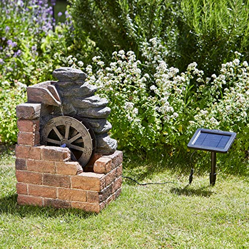 Smart Solar Heywood Mill Fountain Water Feature