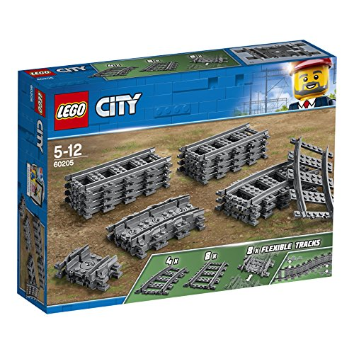 Lego city binari,, taglia unica, 5702016199055