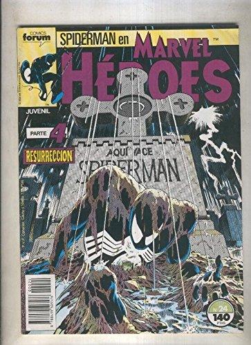 Marvel Heroes numero 24: Spiderman (numerado 2 en trasera)