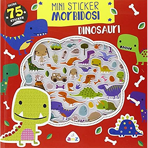 Dinosauri. Mini sticker morbidosi