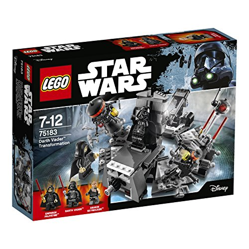 LEGO Star Wars 75183 - Darth Vader Transformation Spielzeug (Star Skywalker Wars Lego)