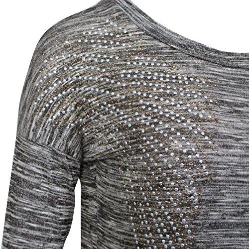 Mesdames Chrisrmas Xmas Ange Survêtement Bottom et Sweatshirt Set EUR Taille 36-42 Charbon de bois