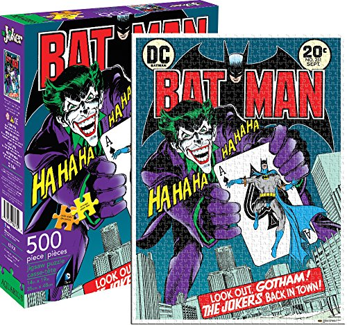 The Joker Batman 500 rompecabezas pieza del puzzle 480mm x 350mm (nm)