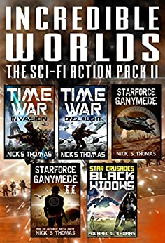 Incredible Worlds - The Sci Fi Action Pack II (5 Full Length Books) (Incredible Worlds Box Set Book 2) (English Edition) de [Thomas, Nick S., Thomas, Michael G.]