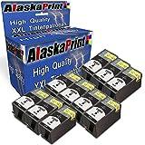 WOW 10x Druckerpatronen komp. mit HP 934 XL 934XL Schwarz Black BK mit Officejet Pro 6830 6820 6230 6812 6815 6835 Patronen Tintenpatronen