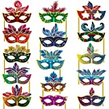 Party Propz Photo Props Mask - Set of 15