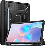 MoKo Case Fit Samsung Galaxy Tab S6 10.5 SM-T860/T865 2019, [Built-in Screen Protector] Full-Body Shockproof Case Smart…