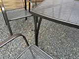 Gartenmöbel-Set Metall - 3
