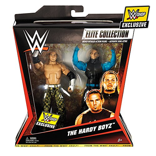 Figur WWE Hardy Boyz - Jeff Hardy & Matt Hardy WWE Shop Exclusive 2er Elite Pack -