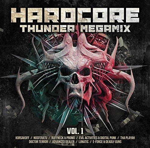 Hardcore Thunder Megamix Vol.1 (2cd) - Various Artists - 2017
