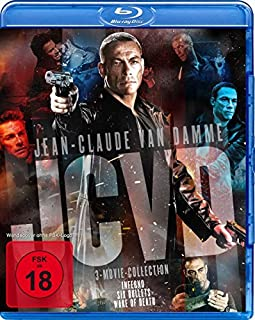 Jean-Claude Van Damme Movie Collection : Inferno - Six Bullets - Wake Of Death (3Blu-ray Box)