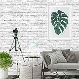 AIWQTO Imitación Vintage ladrillo Wallpaper 3D Autoadhesivo Barra para Etiqueta de Pared Decorativos de Pared de Dormitorio de restaurantes-A 61x1000cm(24x394inch)