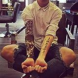 fake tattoo arm Vergleich