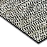 casa pura® Indoor- und Outdoor-Bodenbelag Matera | kunstvoll gewebt | als Teppich oder Läufer | 40 Größen (180x200cm)