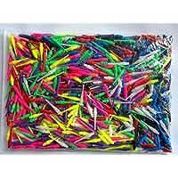 500 puntas para dardos, al menos 6colores, duradero, incluye un conjunto de aletas good-darts, azul