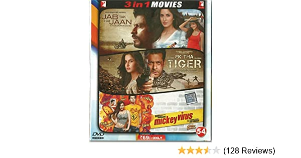 Amazon in: Buy Jab Tak Hai Jaan/Ek Tha Tiger/Mickey Virus