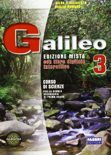 Galileo. Per la Scuola media. Con DVD-ROM. Con espansione online: 3