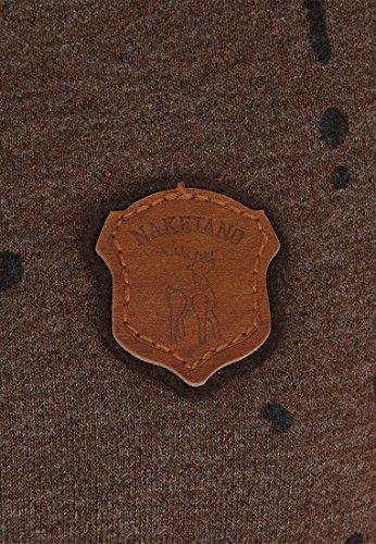 Naketano Female Hoody Gargamel bämst Golum Heritage Anthracite Melange