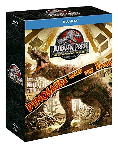 Pack: Parque Jurásico 1-4 - Edición 2018 [Blu-ray]