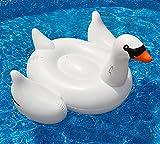 Mystery&Melody Riesen Schwan Float Pool Aufblasbare Float Outdoor Swimming Pool Float Raft Liege Floating Lounge Spielzeug für Erwachsene Kinder