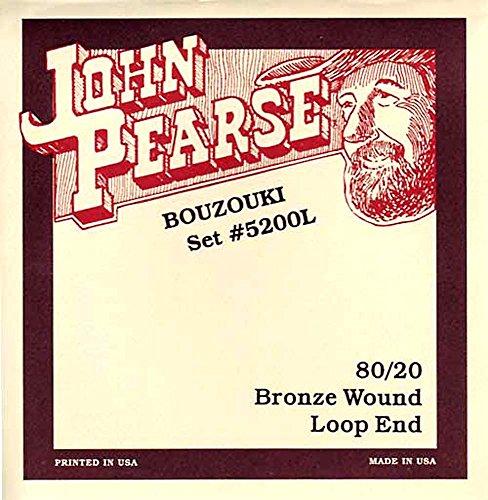 John Pearse 5200L Irish Bouzouki Light Loop