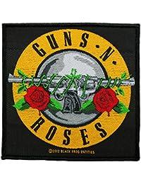 Guns 'N 'roses parche–Gnr Bullet Logo–Guns' N 'roses Patch–tejida & licencia oficial.