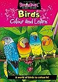 Unbekannt Farbe und Lernen Vögel Malbuch