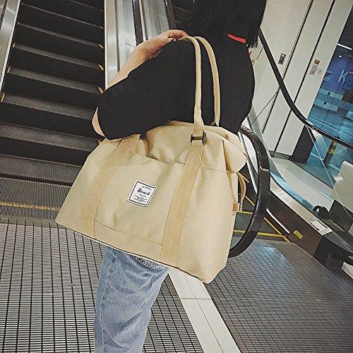 GUMO-Borsette, borsa da viaggio, palestra busta, busta, femmina, grande capacità, borse ?sacche da spiaggia,blu Khaki