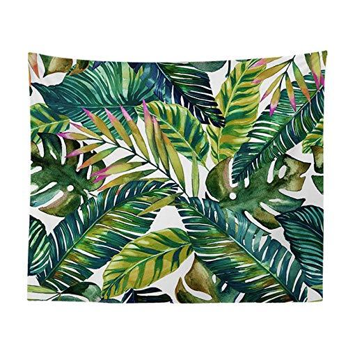 jtxqe Fashion Europe und der Neue Wandteppich hängen Wandbehang Tapisserie Bananenblatt Holz Wand Wandteppich Strandtuch Tapisserie 498 150-150