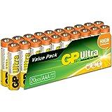 GP Ultra Alkaline AAA Batteries (Pack of 20)