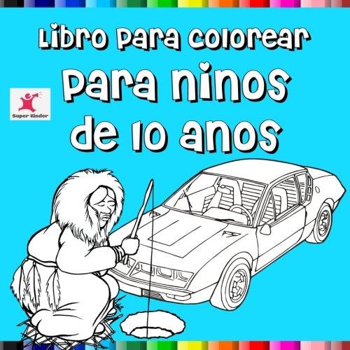 Libro para colorear para niños de 10 años