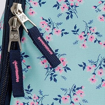 Pepe Jeans Denise Bolsa de Viaje, 55 cm, 35.09 Litros, Azul