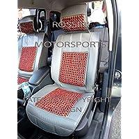 Per Land Rover Range Rover Evoque, Coprisedili Auto SBBSC 02grigio Rossini massaggio, perline, 2fronti