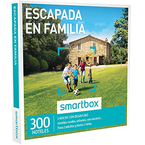 caja regalo smartbox escapada en familia