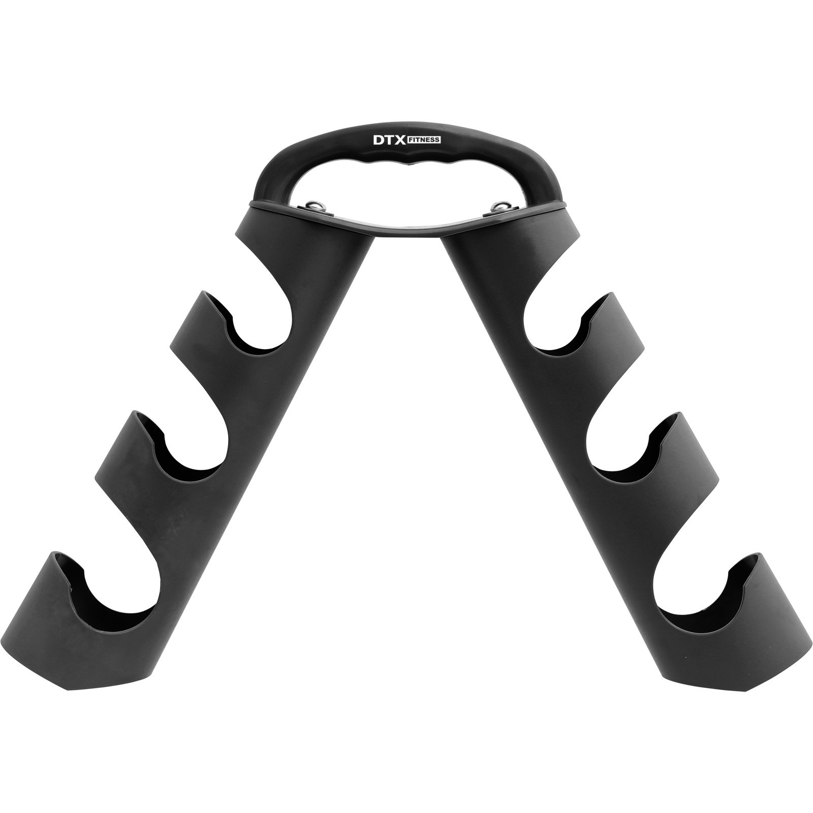 DTX Fitness - Rastrelliera porta manubri portatile ad albero - nero