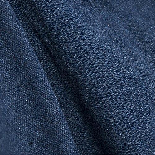 JOTHIN 2017 Damen Modischer Jeansröcke Langer Denim Rock Hohe Taille Elegant Sommer Rock Einfarbige Blau