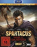Spartacus: War of the Damned - Die komplette Season 3 - Uncut [Blu-ray] [Import allemand]